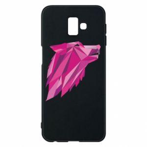 Etui na Samsung J6 Plus 2018 Wolf graphics pink