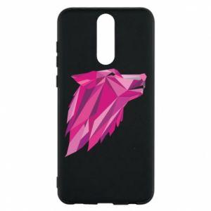 Etui na Huawei Mate 10 Lite Wolf graphics pink