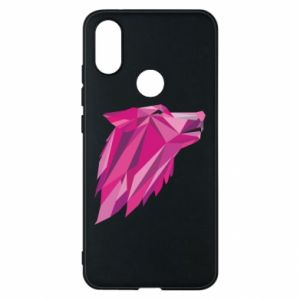 Etui na Xiaomi Mi A2 Wolf graphics pink
