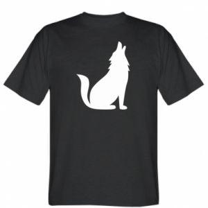 T-shirt Wolf howls