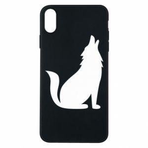 Etui na iPhone Xs Max Wolf howls
