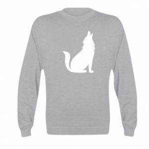 Bluza dziecięca Wolf howls