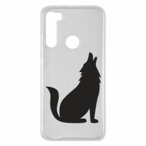 Etui na Xiaomi Redmi Note 8 Wolf howls