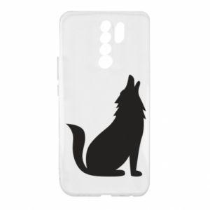 Etui na Xiaomi Redmi 9 Wolf howls