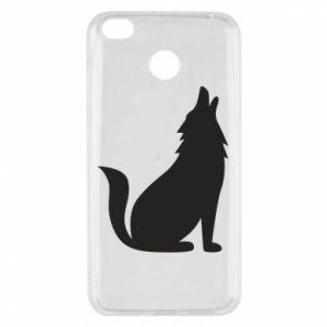 Etui na Xiaomi Redmi 4X Wolf howls