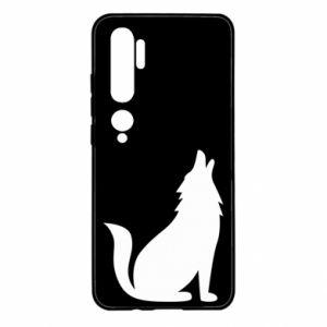 Etui na Xiaomi Mi Note 10 Wolf howls