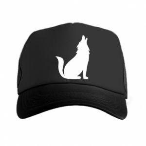 Trucker hat Wolf howls