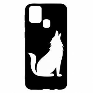 Etui na Samsung M31 Wolf howls