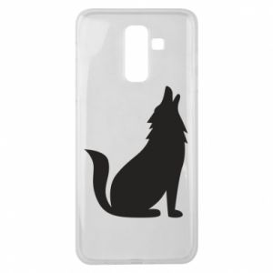Etui na Samsung J8 2018 Wolf howls