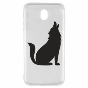 Etui na Samsung J7 2017 Wolf howls