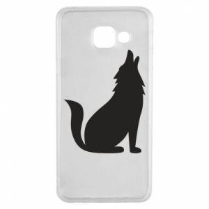 Etui na Samsung A3 2016 Wolf howls