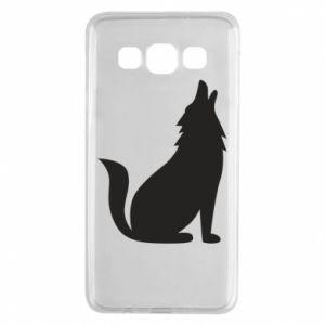 Etui na Samsung A3 2015 Wolf howls