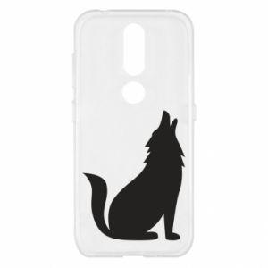 Etui na Nokia 4.2 Wolf howls