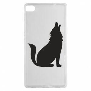 Etui na Huawei P8 Wolf howls