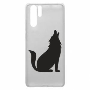 Etui na Huawei P30 Pro Wolf howls