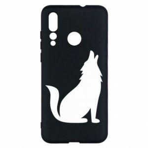 Etui na Huawei Nova 4 Wolf howls