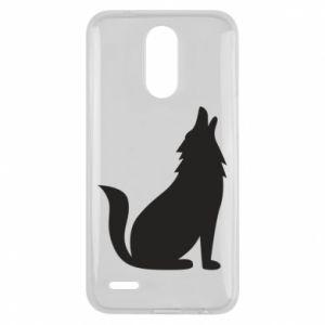 Etui na Lg K10 2017 Wolf howls