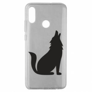 Etui na Huawei Honor 10 Lite Wolf howls