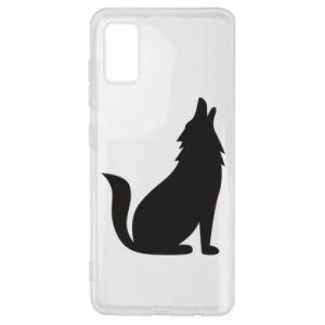 Etui na Samsung A41 Wolf howls