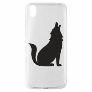 Etui na Huawei Y5 2019 Wolf howls