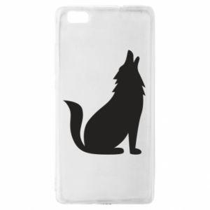 Etui na Huawei P 8 Lite Wolf howls