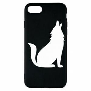 Etui na iPhone SE 2020 Wolf howls