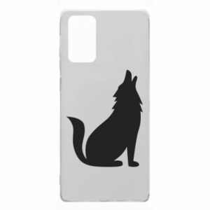 Etui na Samsung Note 20 Wolf howls