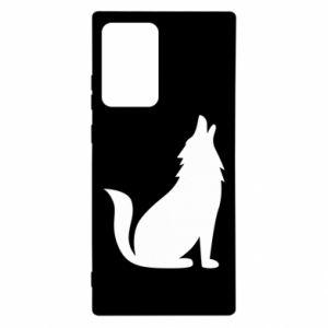 Etui na Samsung Note 20 Ultra Wolf howls