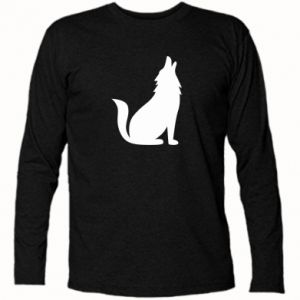 Long Sleeve T-shirt Wolf howls