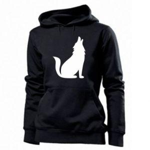 Women's hoodies Wolf howls