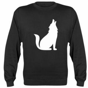 Sweatshirt Wolf howls