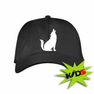 Kids' cap Wolf howls