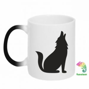Kubek-magiczny Wolf howls