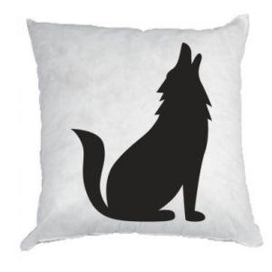 Poduszka Wolf howls