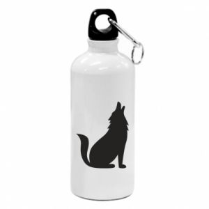 Flask Wolf howls