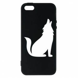 Phone case for iPhone 5/5S/SE Wolf howls