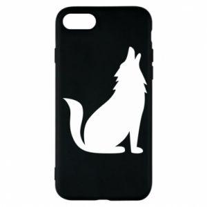 Etui na iPhone 7 Wolf howls