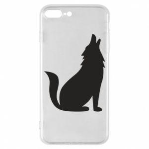 Etui na iPhone 8 Plus Wolf howls