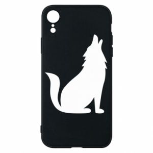 Phone case for iPhone XR Wolf howls