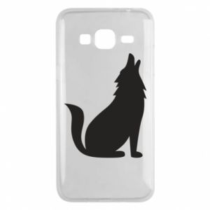 Etui na Samsung J3 2016 Wolf howls