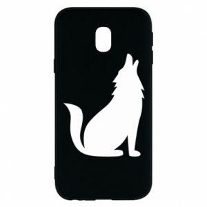 Phone case for Samsung J3 2017 Wolf howls