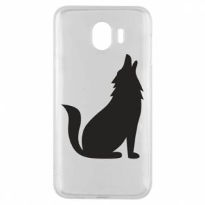 Etui na Samsung J4 Wolf howls