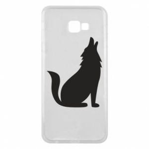 Phone case for Samsung J4 Plus 2018 Wolf howls