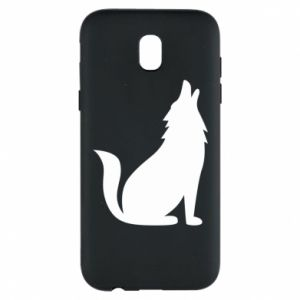 Phone case for Samsung J5 2017 Wolf howls