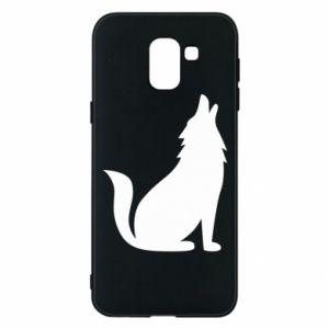 Etui na Samsung J6 Wolf howls