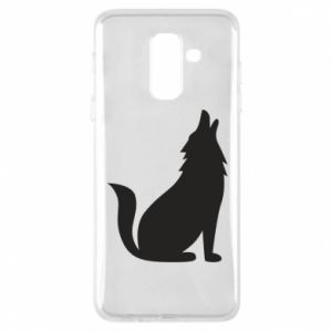 Phone case for Samsung A6+ 2018 Wolf howls
