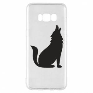 Etui na Samsung S8 Wolf howls