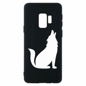 Etui na Samsung S9 Wolf howls