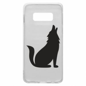 Etui na Samsung S10e Wolf howls