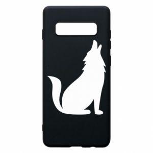 Etui na Samsung S10+ Wolf howls
